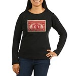 Sesquicentennial 2-cent Stamp Women's Long Sleeve