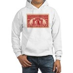 Sesquicentennial 2-cent Stamp Hooded Sweatshirt