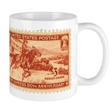 Pony Express 3-cent Stamp Mug