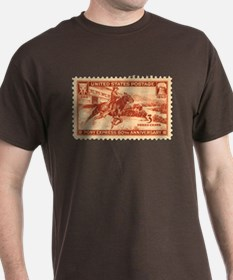 Pony Express 3-cent Stamp T-Shirt
