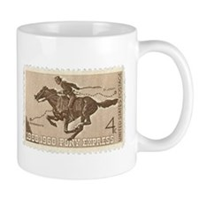 Pony Express 4-cent Stamp Mug