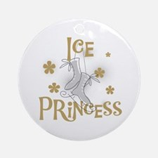 Ice Princess Ornament (Round)