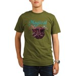 Magical Mama with Baby in Wom Organic Men's T-Shir