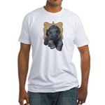 Asian Elephant Fitted T-Shirt