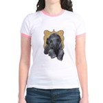 Asian Elephant Jr. Ringer T-Shirt
