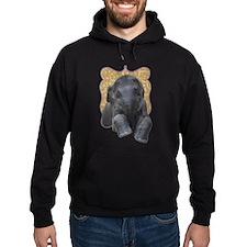 Asian Elephant Hoodie (dark)