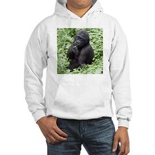 Relaxing Young Gorilla Hoodie