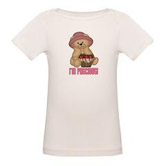 Country Teddy Bear Girl Organic Baby T-Shirt