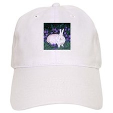 Mini White Rabbit Baseball Cap