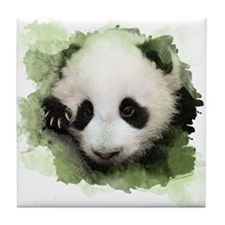 Baby Giant Panda Tile Coaster