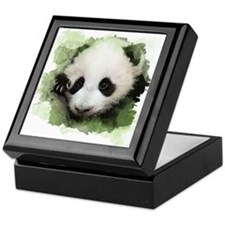 Baby Giant Panda Keepsake Box