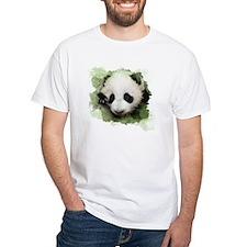 Baby Giant Panda White T-Shirt