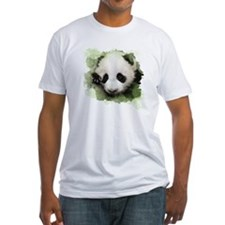 Baby Giant Panda Fitted T-Shirt