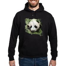 Baby Giant Panda Hoodie (dark)