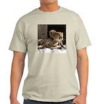 Mom and Baby Cheetah Light T-Shirt