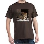 Mom and Baby Cheetah Dark T-Shirt