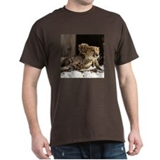 Mom and Baby Cheetah Dark T-Shirt