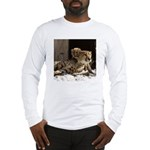 Mom and Baby Cheetah Long Sleeve T-Shirt
