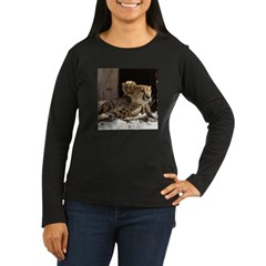 Mom and Baby Cheetah T-Shirt
