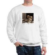 Mom and Baby Cheetah Sweatshirt