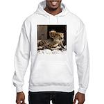 Mom and Baby Cheetah Hooded Sweatshirt