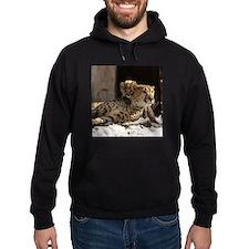 Mom and Baby Cheetah Hoodie (dark)