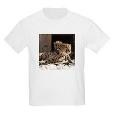 Mom and Baby Cheetah Kids Light T-Shirt