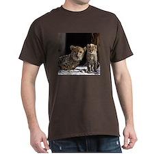Mom and Baby Cheetah T-Shirt
