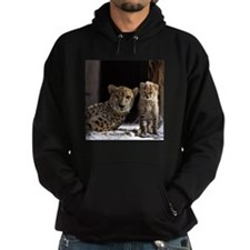 Mom and Baby Cheetah Hoodie