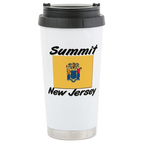 Summit New Jersey Stainless Steel Travel Mug