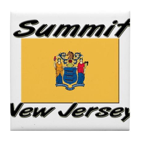 Summit New Jersey Tile Coaster