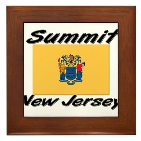 Summit New Jersey Framed Tile