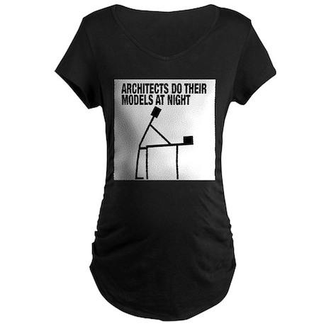 Architects Do Models Maternity T-Shirt