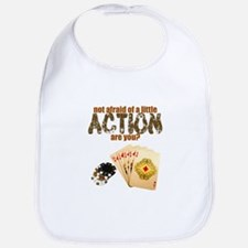 """Afraid of Action"" Bib"