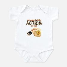 """Afraid of Action"" Infant Bodysuit"