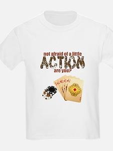 """Afraid of Action"" T-Shirt"