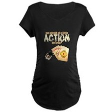 """Afraid of Action"" T-Shirt"