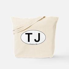 TJ Oval - Tote Bag