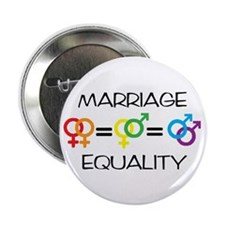 """Marriage Equality 2.25"""" Button (10 pack)"""