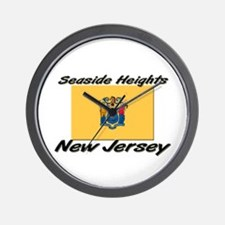 Seaside Heights New Jersey Wall Clock