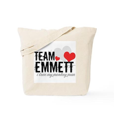 Team Emmett - i love my monke Tote Bag