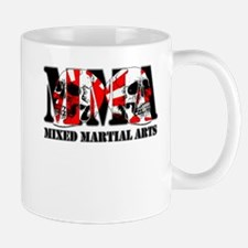 MMA Japan Flag & Skulls Mug