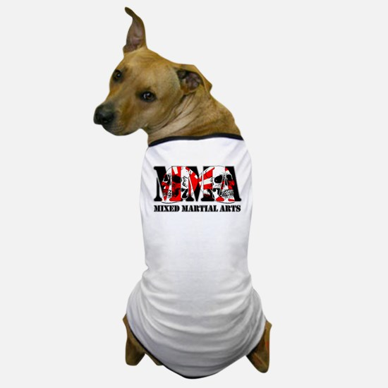 MMA Japan Flag & Skulls Dog T-Shirt