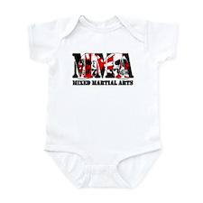 MMA Japan Flag & Skulls Infant Bodysuit
