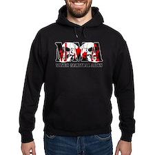 MMA Canada Flag & Skulls Hoodie