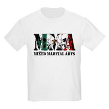 MMA Mexico Flag & Skulls T-Shirt