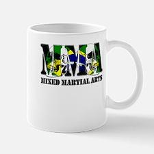 MMA Brazil Flag & Skulls Mug