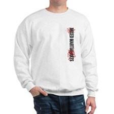 MMA Mixed Martial Arts Vertic Sweatshirt