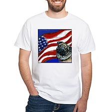 Pug American Flag Shirt