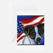 Jack Russell Terrier American Greeting Cards (Pk o